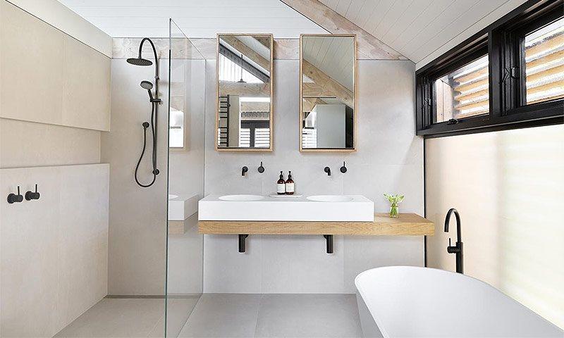 Как должна выглядеть ванная комната в Скандинавском стиле?