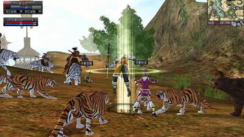Бесплатная онлайн игра Девять Драконов (9Dragons)