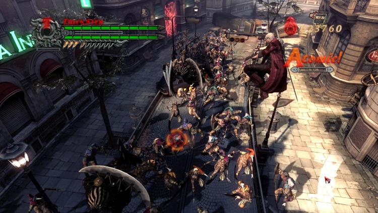 Обзор игры Devil May Cry 4
