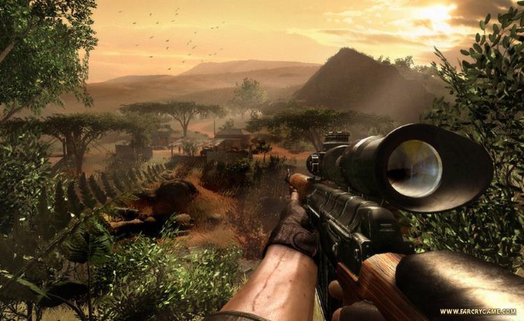 Far Cry 2 - продолжение легенды, гемплей и сюжет