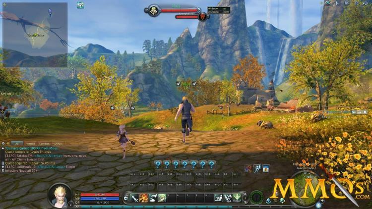 Особенности игры, сюжет и гемплей Aion