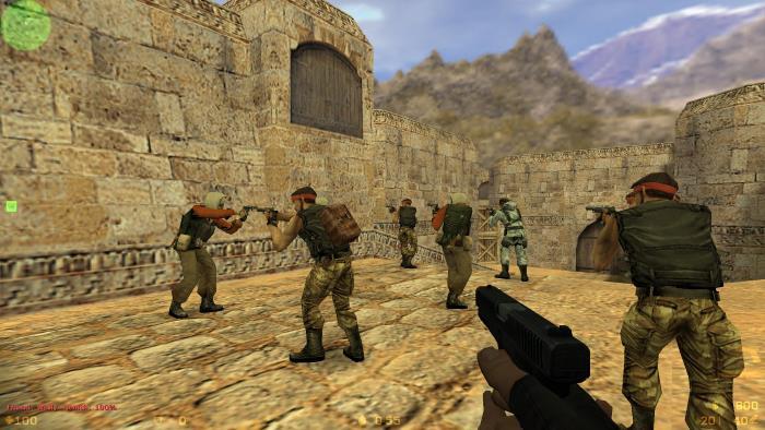 Обзор игры Counter Strike