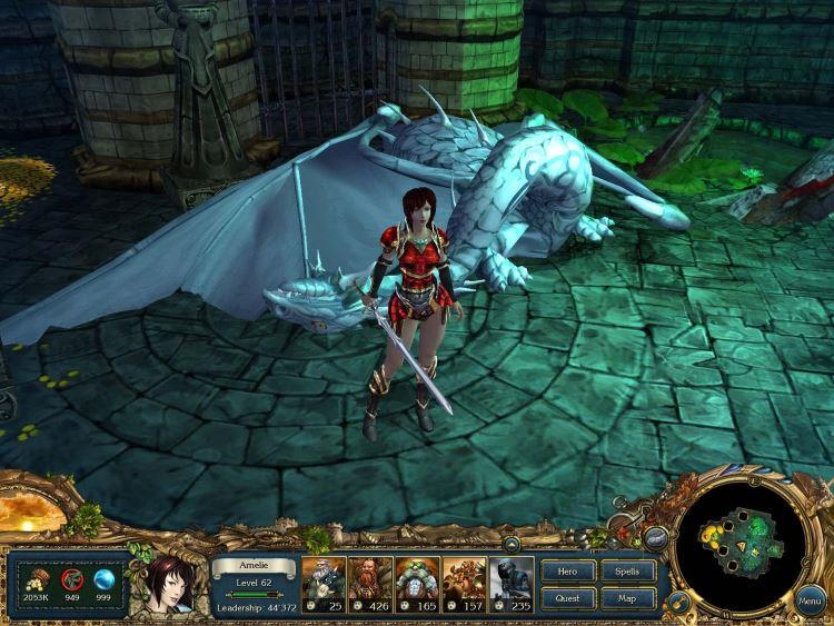 Обзор игры King's Bounty: Принцесса в доспехах
