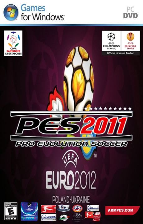 ARM PES 2011 v2.01 EURO 2012 EDITION