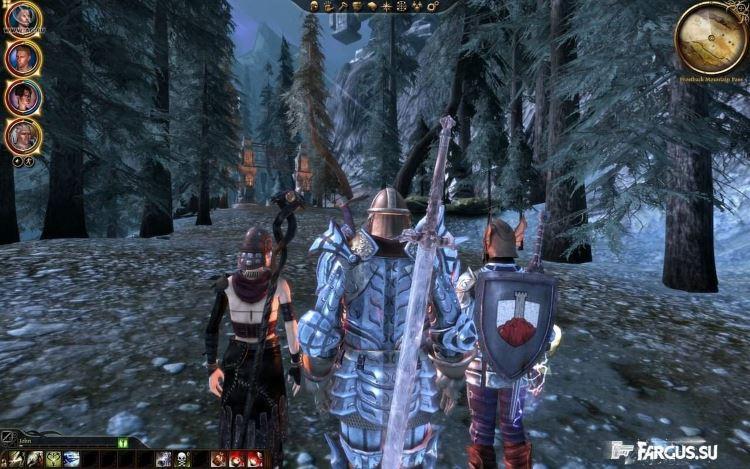 Обзор игры Dragon age: Origins