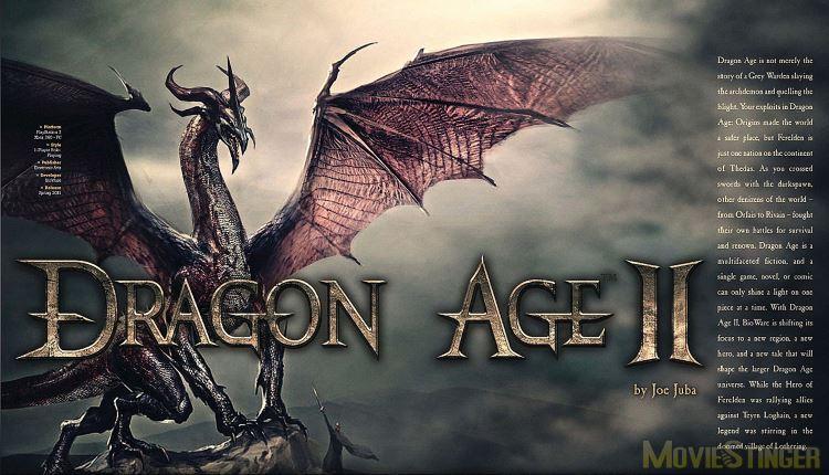 Игровой мир Dragon Age 2