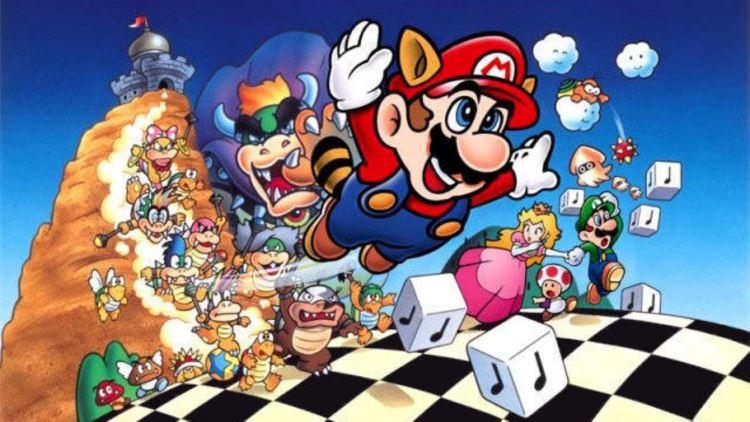 Обзор игры Super Mario 3