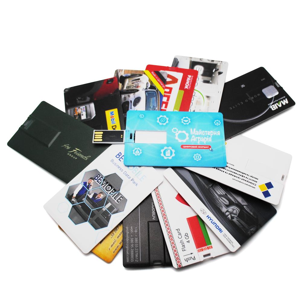 USB визитная карточка с секретом